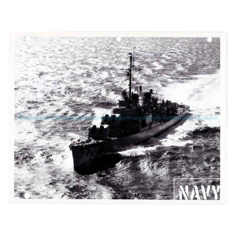 Navy Photo of DD-770