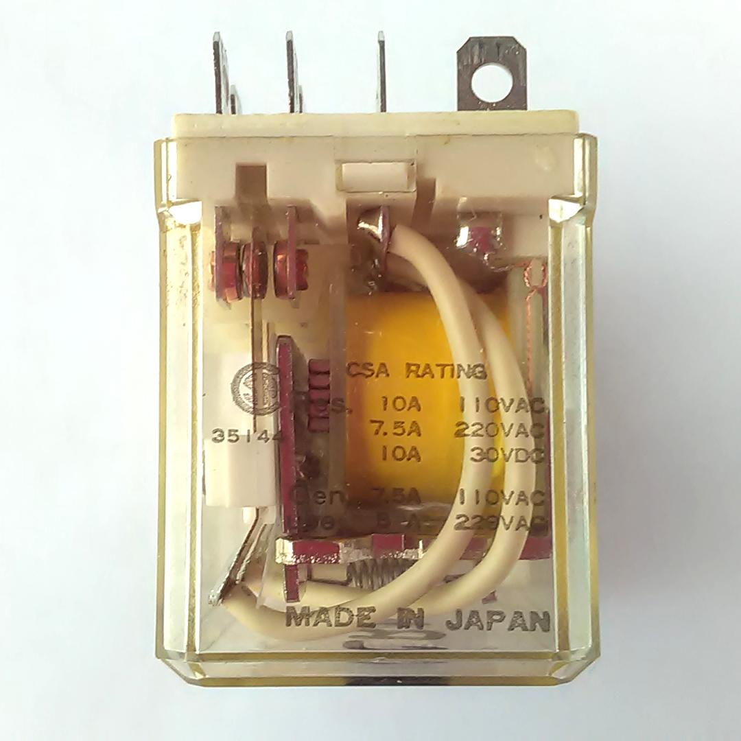 Eagle Signal 16q4cd012 Electromechanical Relay 12vdc Dc12v Socket Power Rating