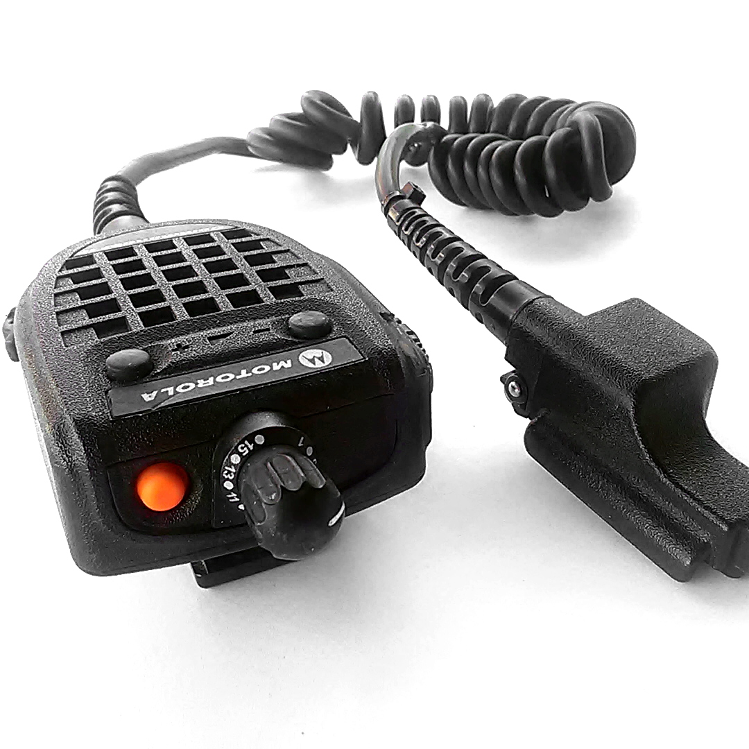 Police Radio Mic >> Motorola Commander Ii Rmn5089b Sp01 Speaker Mic For Police Radio