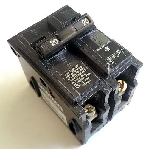 Square D 1 Pole 15 Amp Type QO QO115 Single Pole Circuit