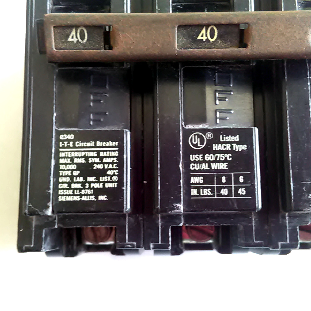 Awesome How To Wire A 40 Amp Breaker Pattern - Electrical and Wiring ...