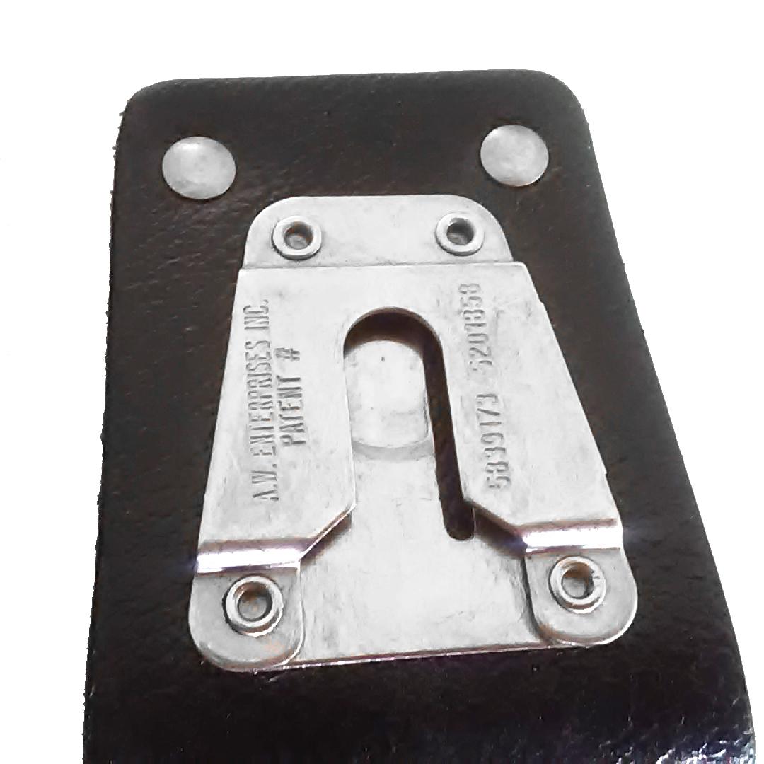 Motorola Radio XTS5000 XTS3000 Heavy Duty Hard Leather Carry Case /& Belt Loop