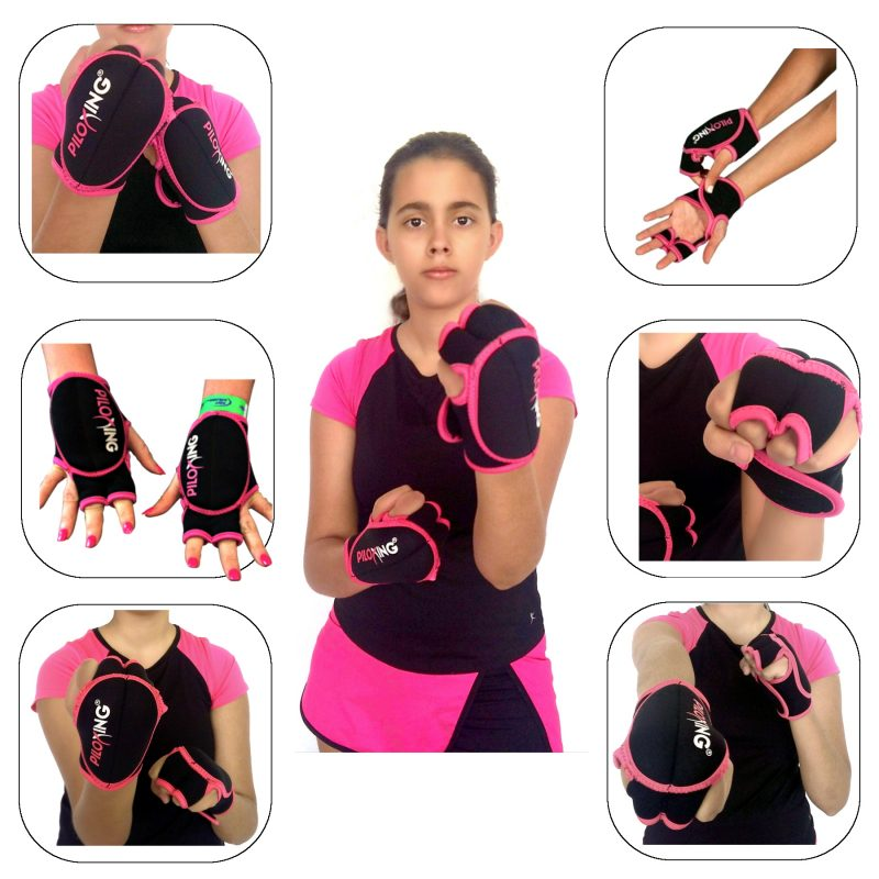 PILOXING Women Weighted Gloves