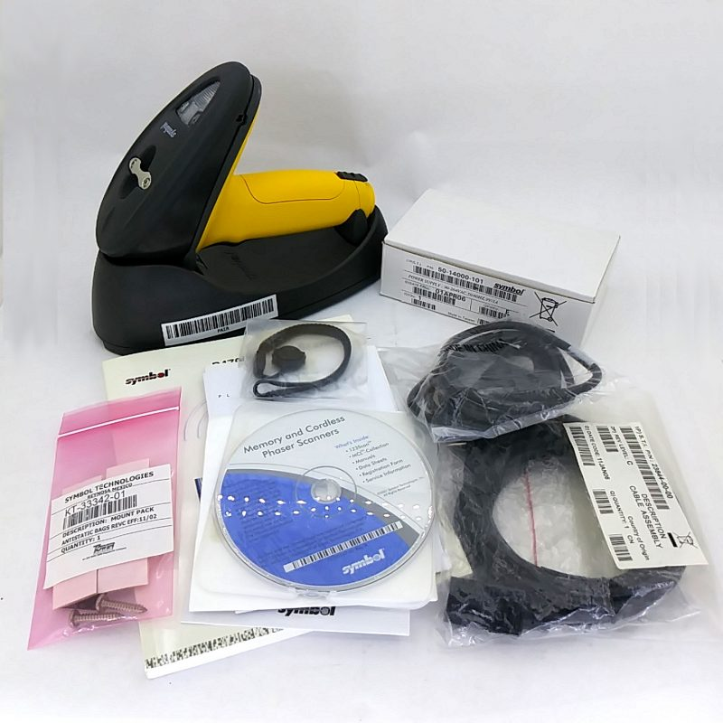 Symbol P370-SR1001100FB Complet Scanner Kit with Cradle PL370-1000FB