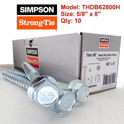 Simpson Strong Tie THDB62800H