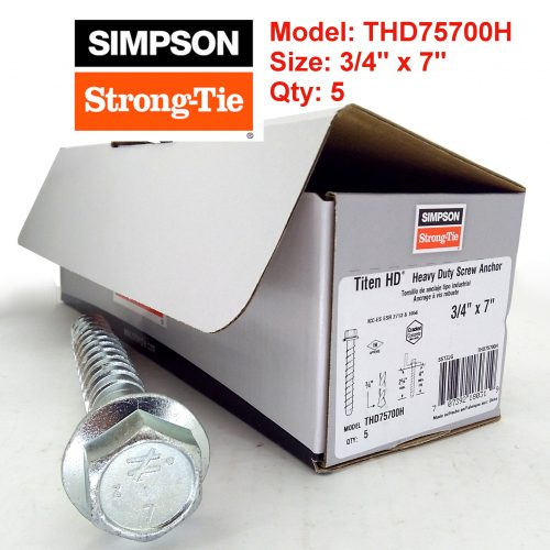 Simpson Strong Tie THD75700H