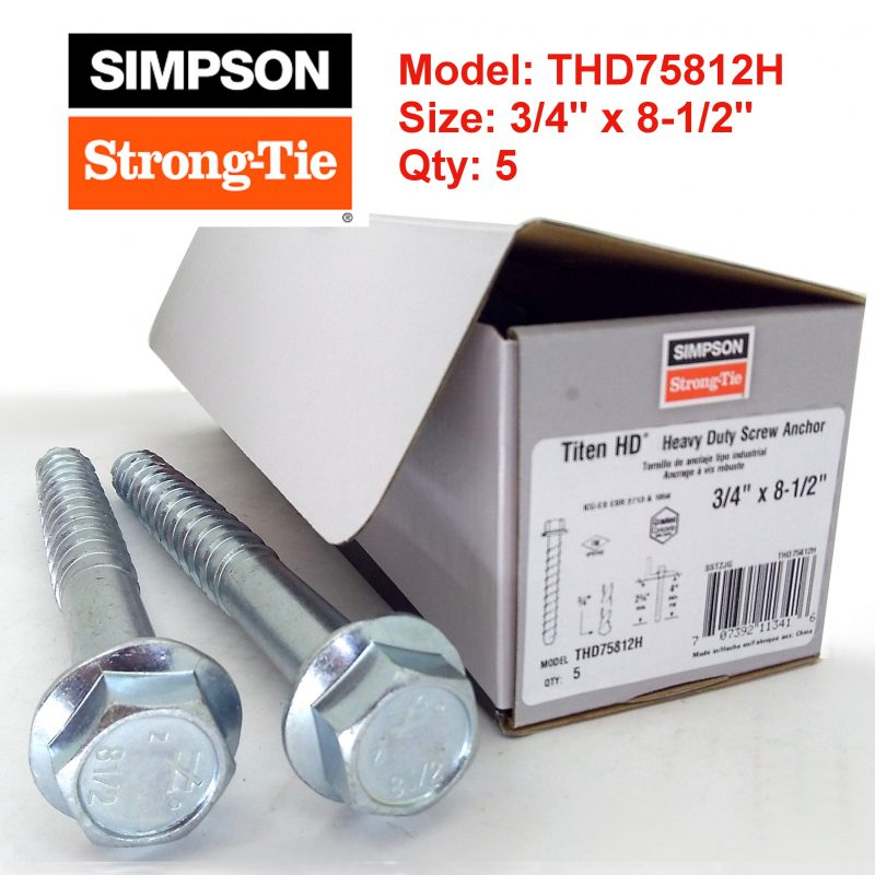Simpson Strong Tie THD75812H
