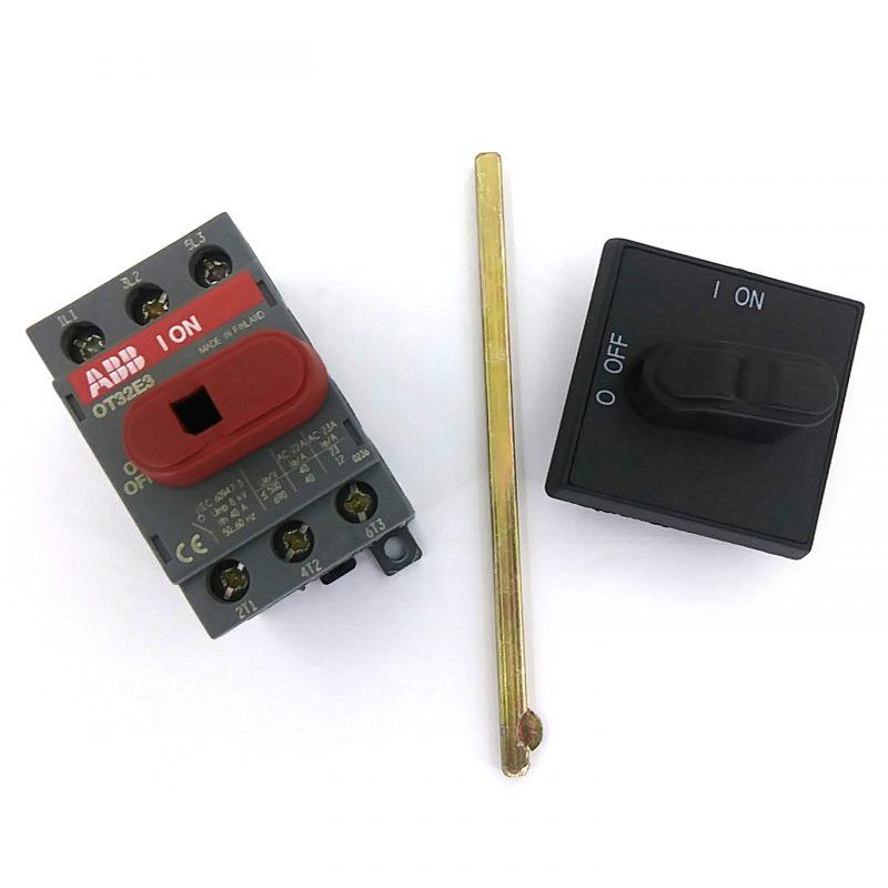 OT32E3- Disconnect Switch, 3-P, 40A/600V