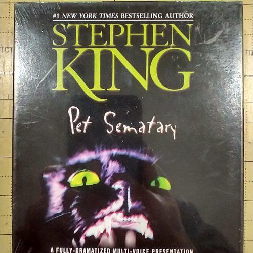 *STEPHEN KING * RARE Pet Sematary Audio Dramatization 3 Cds BBC