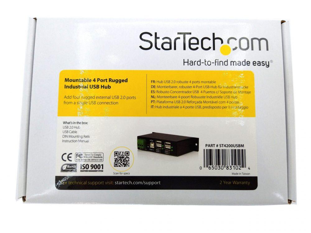 StarTech ST4200USBM Rugged Industrial 4-port USB2